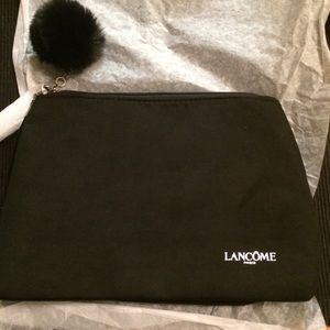 New Lancome Black Cosmetic Bag